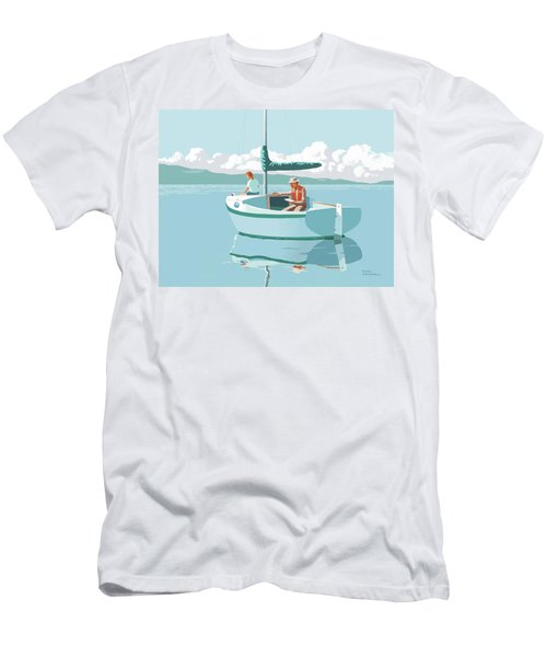 Wating For The Wind Men's T-Shirt (Athletic Fit)