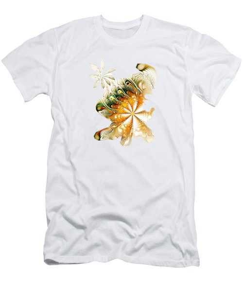 Waves And Pearls Men's T-Shirt (Athletic Fit)