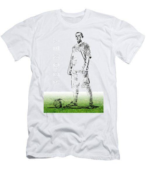 Wayne Rooney Men's T-Shirt (Slim Fit) by ISAW Gallery
