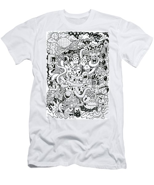 We All Love Cheese Men's T-Shirt (Athletic Fit)