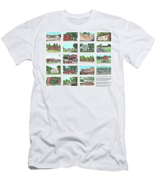 We Call Them Home 4x6 Collection - 24x20 Natural Sized Poster Print Men's T-Shirt (Athletic Fit)