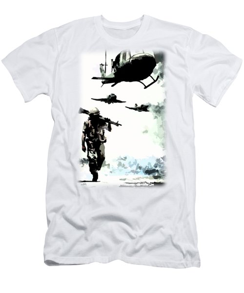 We Come Home Men's T-Shirt (Athletic Fit)