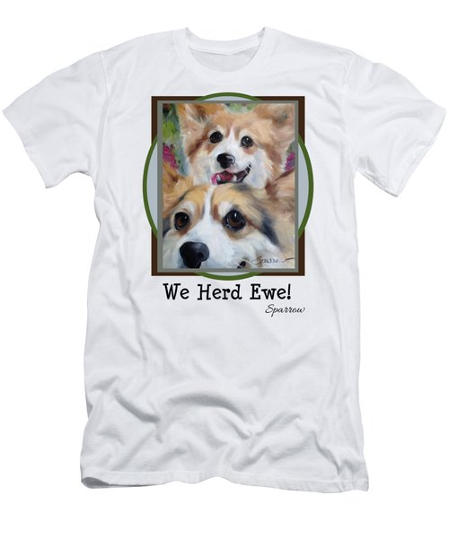 We Herd Ewe Men's T-Shirt (Athletic Fit)