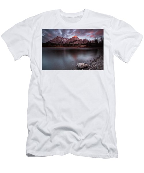 Wedge Pond Dawn Men's T-Shirt (Athletic Fit)