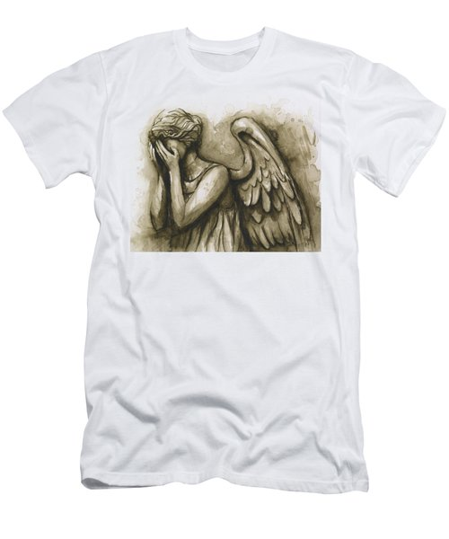 Weeping Angel Men's T-Shirt (Athletic Fit)