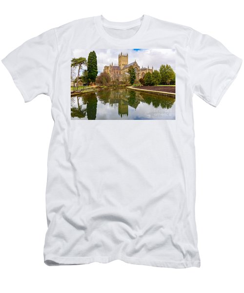 Wells Cathedral Men's T-Shirt (Slim Fit) by Colin Rayner