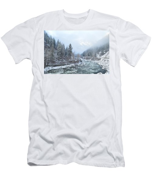 Wenatchee River Men's T-Shirt (Athletic Fit)