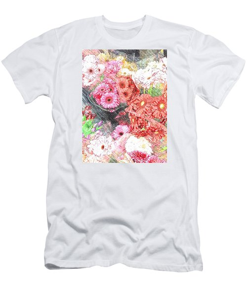 Wendy's Flowers Men's T-Shirt (Slim Fit)