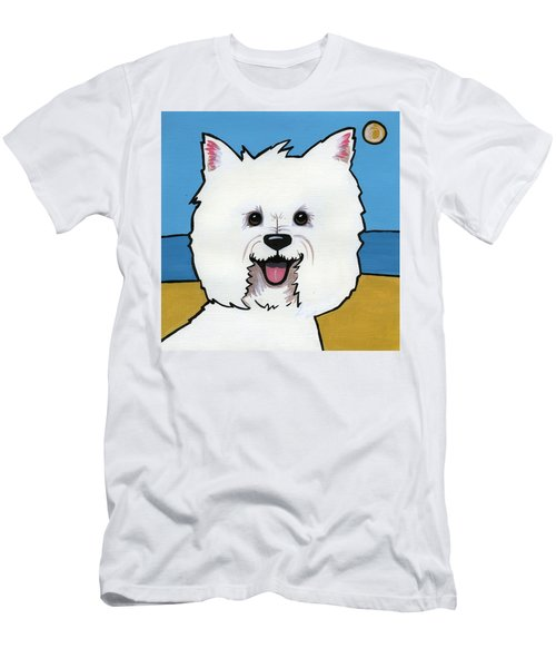 West Highland Terrier Men's T-Shirt (Athletic Fit)