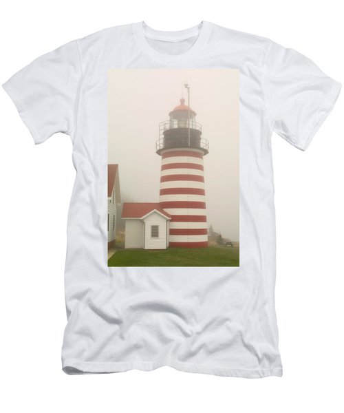 West Quody Head Lighthouse Men's T-Shirt (Athletic Fit)