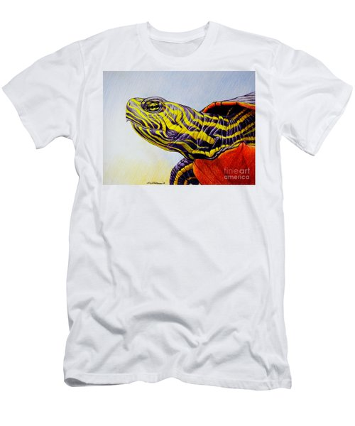 Western Painted Turtle Men's T-Shirt (Athletic Fit)