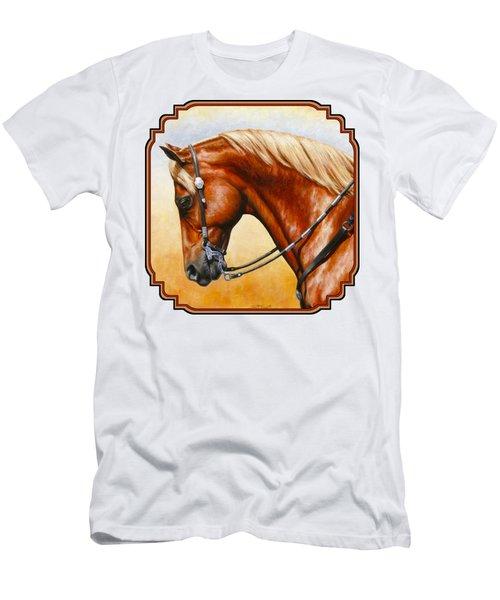 Western Pleasure Horse Phone Case Men's T-Shirt (Athletic Fit)