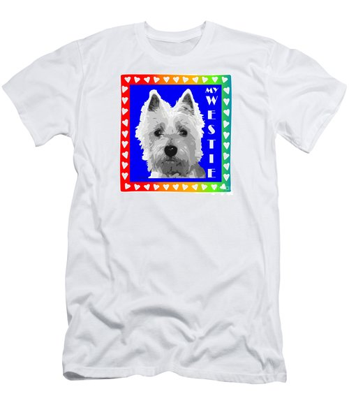 Westie Tshirt Men's T-Shirt (Athletic Fit)