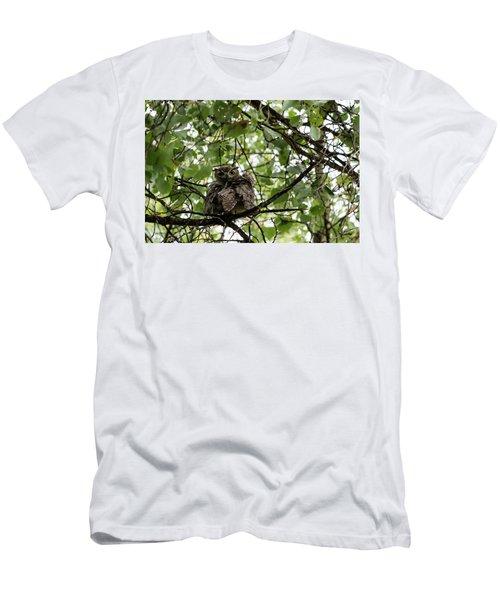 Wet Owl - Wide View Men's T-Shirt (Athletic Fit)