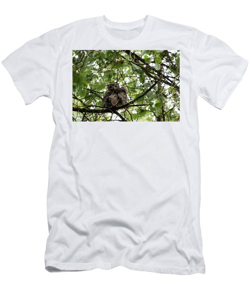 Wet Owl - Wide View Men's T-Shirt (Athletic Fit)