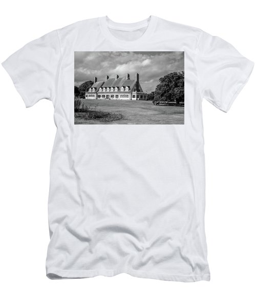 Whalehead Club Men's T-Shirt (Slim Fit) by David Sutton