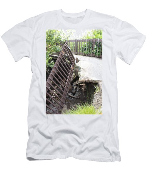 Men's T-Shirt (Slim Fit) featuring the photograph What Storms Can Do by Marie Neder