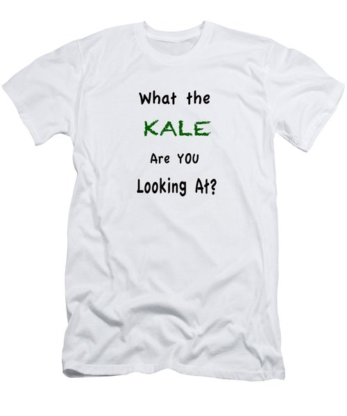 What The Kale Are You Looking At Men's T-Shirt (Athletic Fit)