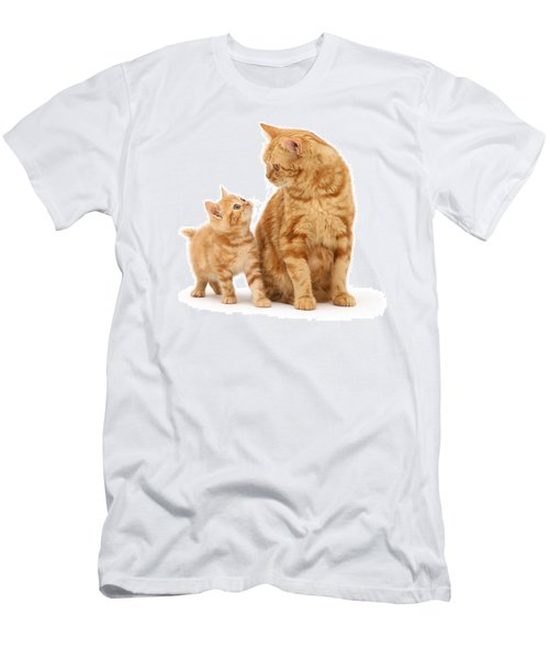 Men's T-Shirt (Athletic Fit) featuring the photograph What's For Dinner, Mum by Warren Photographic