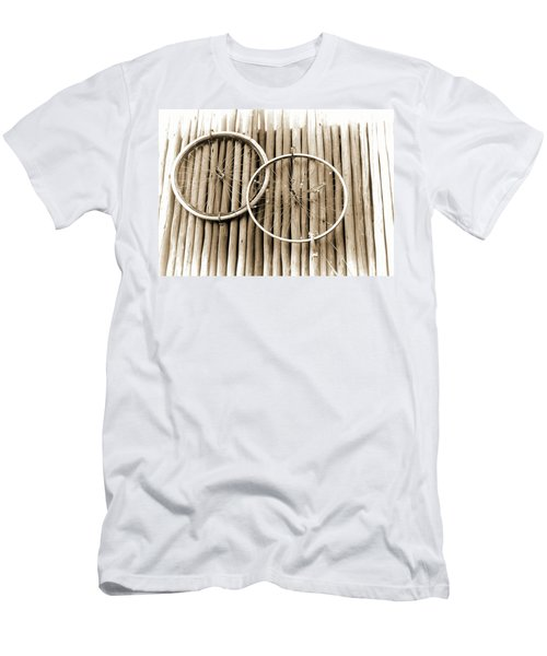 Wheels On Bamboo Men's T-Shirt (Athletic Fit)