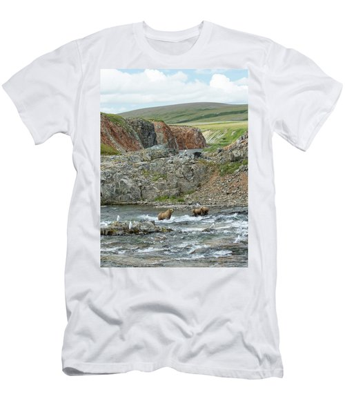 Where The Bears Are  Men's T-Shirt (Athletic Fit)
