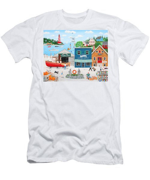 Where The Buoys Are Men's T-Shirt (Athletic Fit)