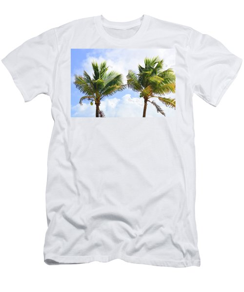 Where The Coconuts Grow Men's T-Shirt (Athletic Fit)