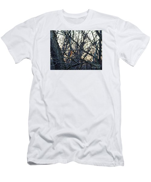 Men's T-Shirt (Slim Fit) featuring the photograph Where The Wild Things Are by Sandy Molinaro