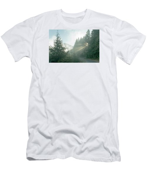 Where Will Your Road Take You? Men's T-Shirt (Athletic Fit)