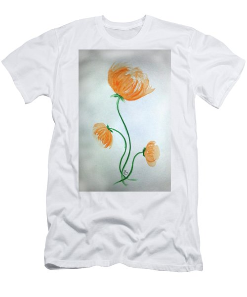 Whimsical Flowers Men's T-Shirt (Athletic Fit)