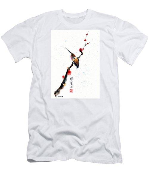 Whisper Men's T-Shirt (Slim Fit) by Bill Searle