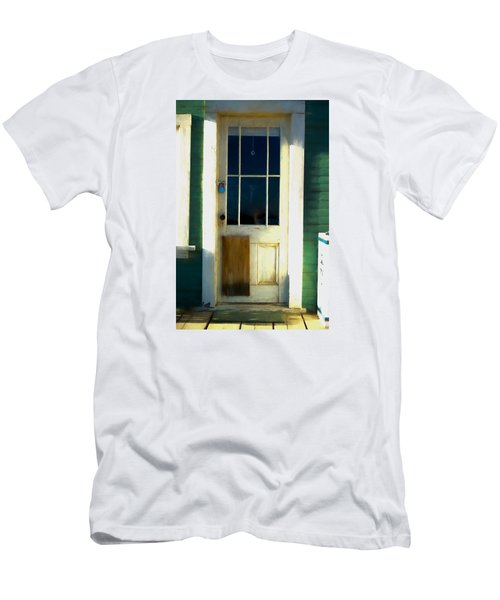 White Door -da- Men's T-Shirt (Athletic Fit)