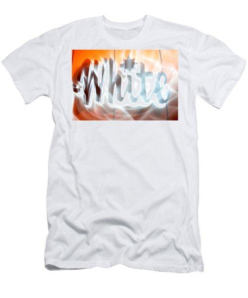 White Hot Men's T-Shirt (Athletic Fit)