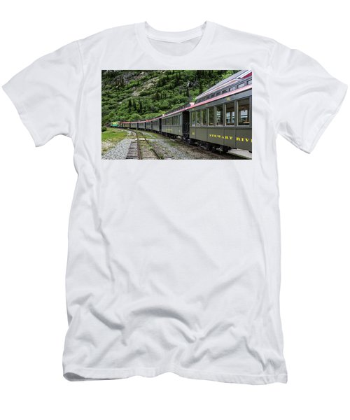 White Pass And Yukon Railway Men's T-Shirt (Athletic Fit)