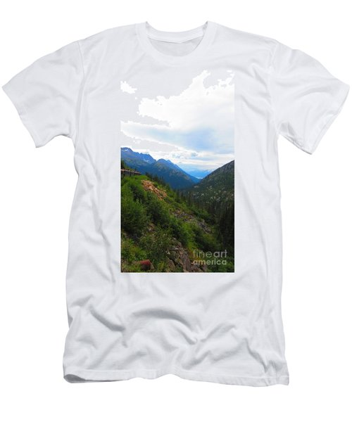 White Pass Rail Road Men's T-Shirt (Athletic Fit)