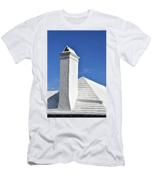 White Roof No. 6-1 Men's T-Shirt (Athletic Fit)
