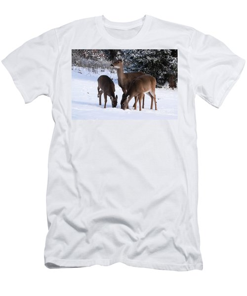 White-tailed Deer - 8855 Men's T-Shirt (Athletic Fit)