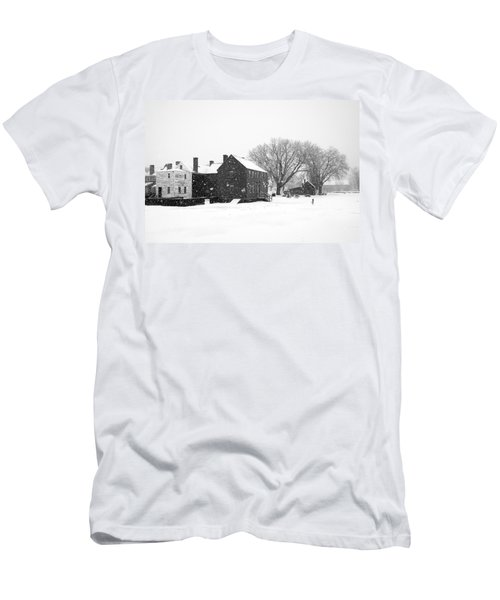Whiteout At Strawbery Banke Men's T-Shirt (Athletic Fit)