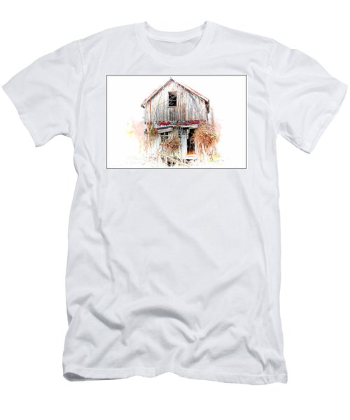 Whiteout In Opequon Men's T-Shirt (Slim Fit) by Suzanne Stout
