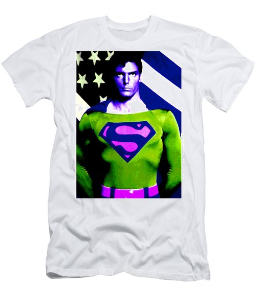 Who Is Superman Men's T-Shirt (Athletic Fit)
