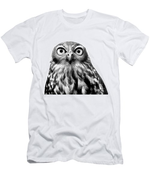 Whoo You Callin A Wise Guy Men's T-Shirt (Slim Fit) by Marion Cullen
