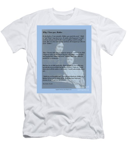 Why I Love You Mother Men's T-Shirt (Athletic Fit)