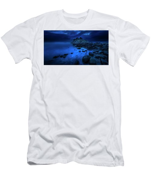 Men's T-Shirt (Slim Fit) featuring the photograph Whytecliff Dusk by John Poon