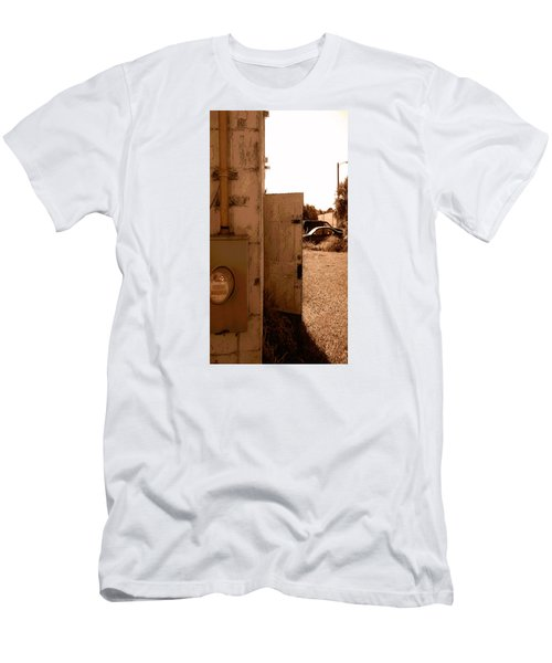 Men's T-Shirt (Slim Fit) featuring the photograph Wide Open by Steve Sperry