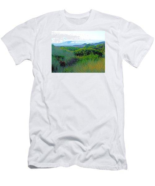 Wild Coastal Flora Men's T-Shirt (Athletic Fit)