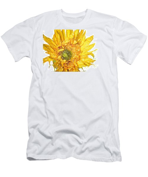Wild Flower Two  Men's T-Shirt (Slim Fit) by Heidi Smith