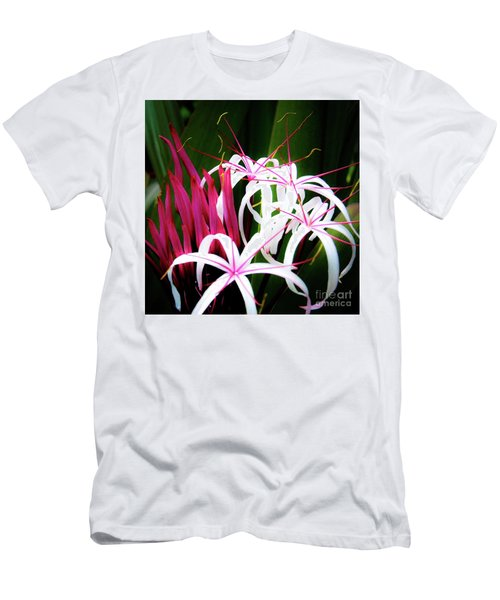 Wild Flowers In Hawaii Men's T-Shirt (Athletic Fit)