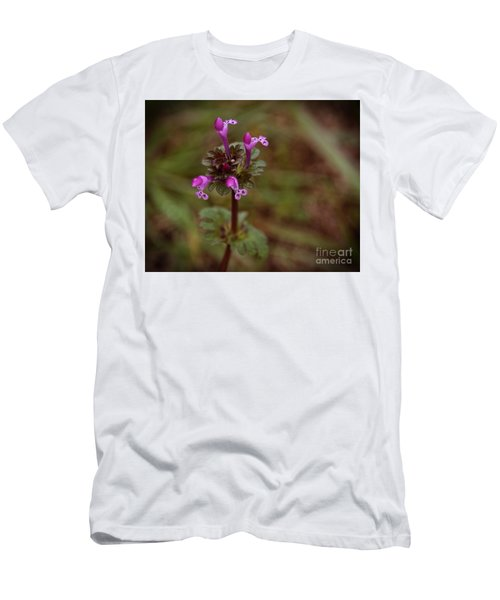 Wild Henbit Flower Loganville Georgia Men's T-Shirt (Athletic Fit)