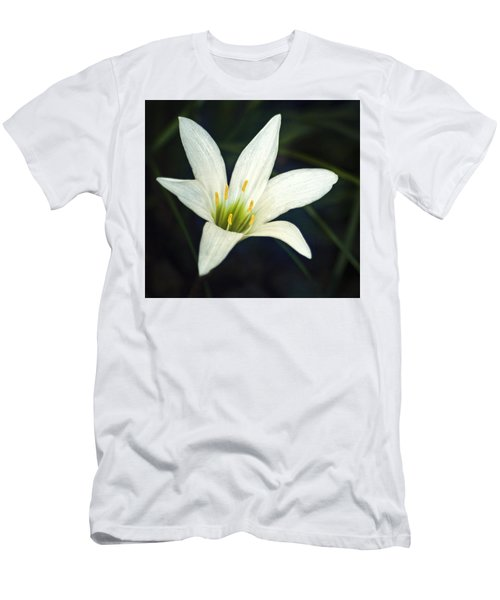 Men's T-Shirt (Slim Fit) featuring the photograph Wild Lily by Carolyn Marshall