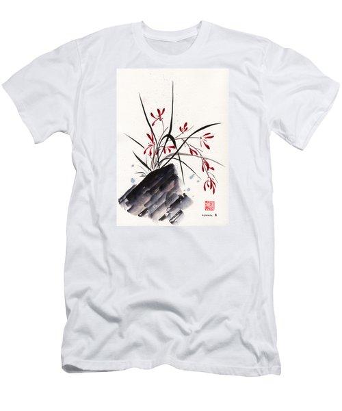 Open Hearts Men's T-Shirt (Slim Fit) by Bill Searle